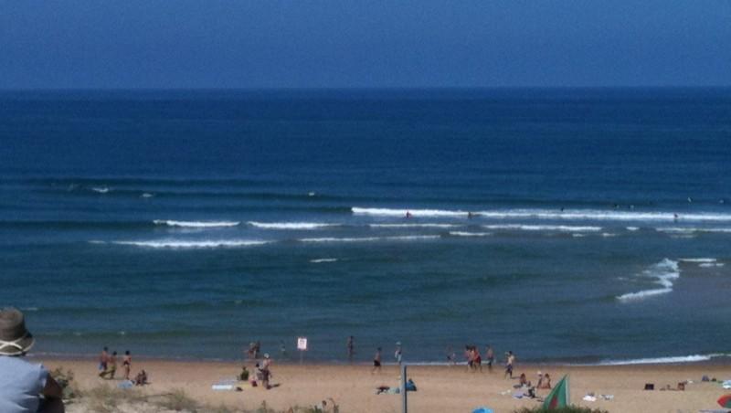 Surf report Vieux Boucau - France (40) 2010-07-28 12:00:00