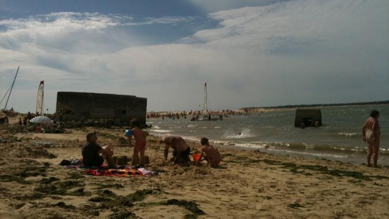 Surf report Plage du Galon d'Or - France (17) 2010-07-28 16:53:00