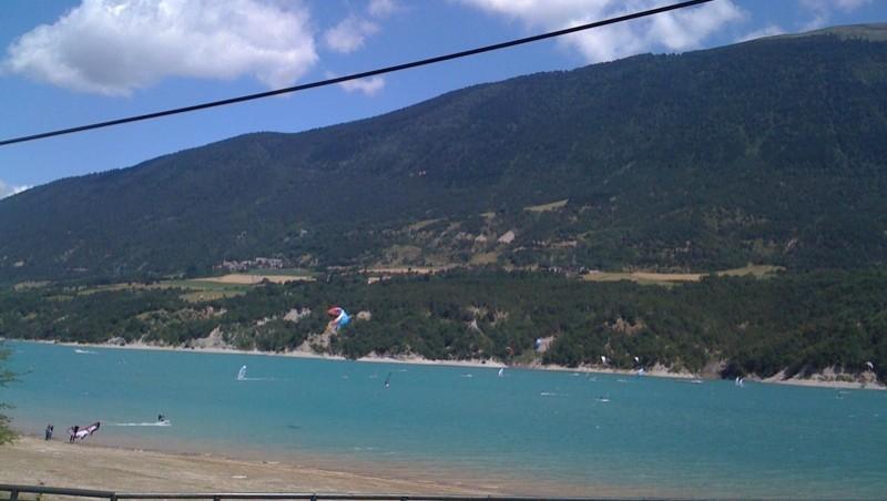 wave report Lac du Monteynard - France (38) 2010-07-30 14:00:00