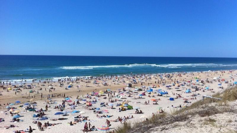 Surf report Biscarrosse Plage - France (40) 2010-07-30 16:38:00