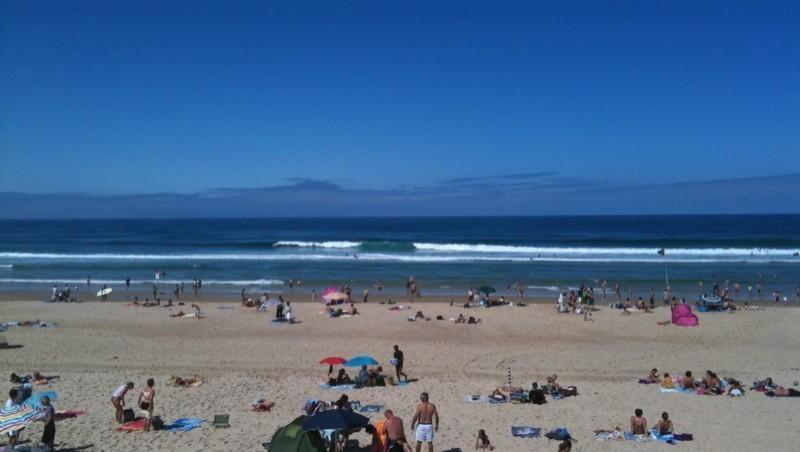 Surf report Biscarrosse Plage - France (40) 2010-08-08 11:00:00