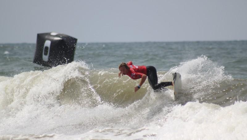 Surf report Lacanau Océan - La Nord - France (33) 2010-08-12 15:30:00
