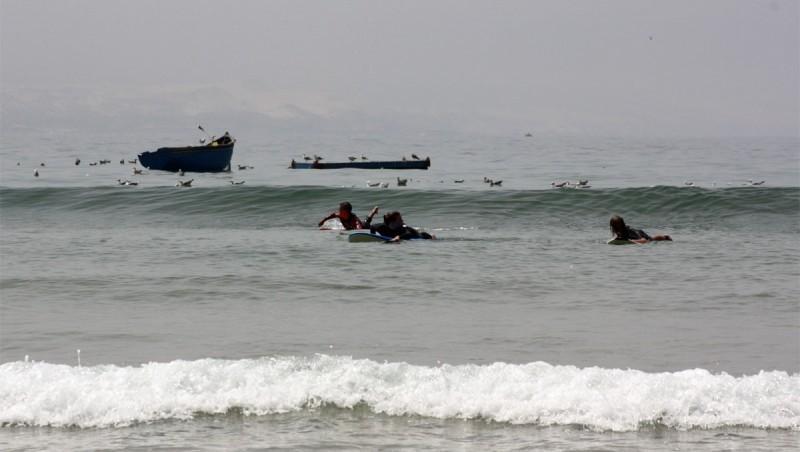 Surf report Baie d'Imessouane - Maroc (MA) 2010-08-15 12:30:00
