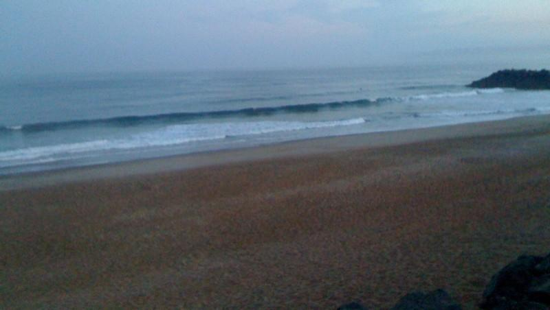 Surf report Anglet Surf Club - France (64) 2010-08-20 07:01:00