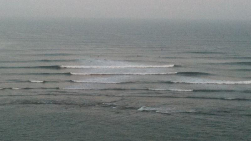 Surf report Guethary Parlementia - France (64) 2010-08-20 10:00:00
