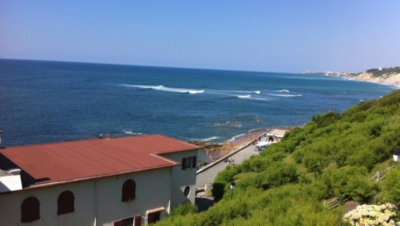 Surf report Guethary Parlementia - France (64) 2010-08-20 16:24:00