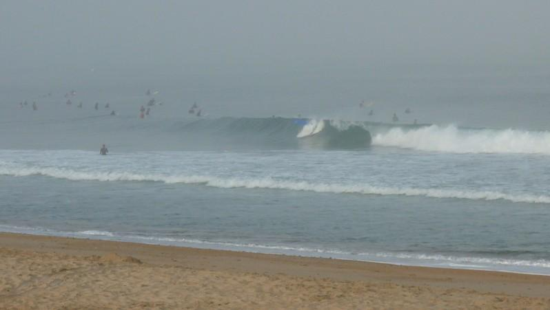 Surf report Anglet Les Cavaliers - France (64) 2010-08-21 08:30:00