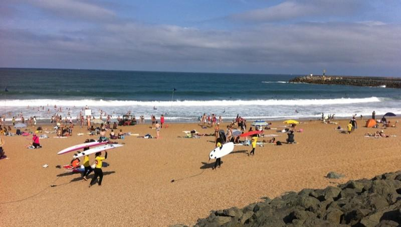 wave report Anglet Les Cavaliers - France (64) 2010-08-22 11:15:00