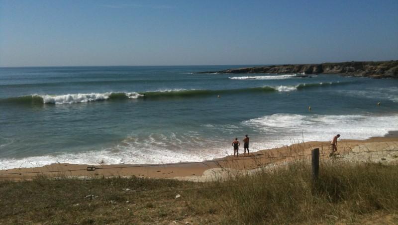 Surf report L'Anse du Sud - France (44) 2010-09-03 13:00:00