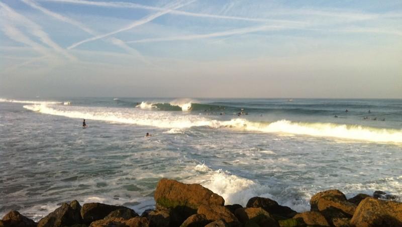 Surf report Capbreton - Le Santosha - France (40) 2010-09-04 08:00:00
