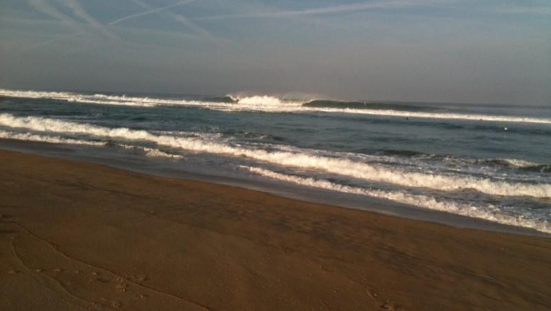 wave report Seignosse - Les Estagnots - France (40) 2010-09-04 09:15:00