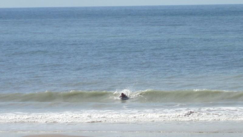 Surf report Carolles - France (50) 2010-09-14 15:30:00