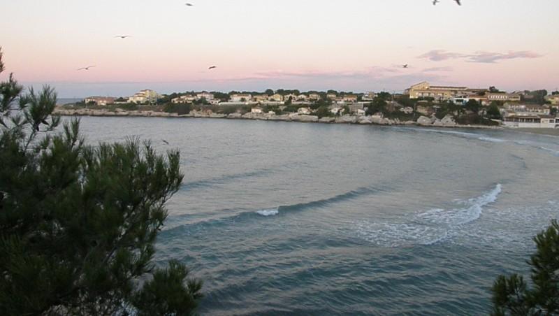 wave report Plage du Verdon - France (13) 2010-09-25 07:10:00