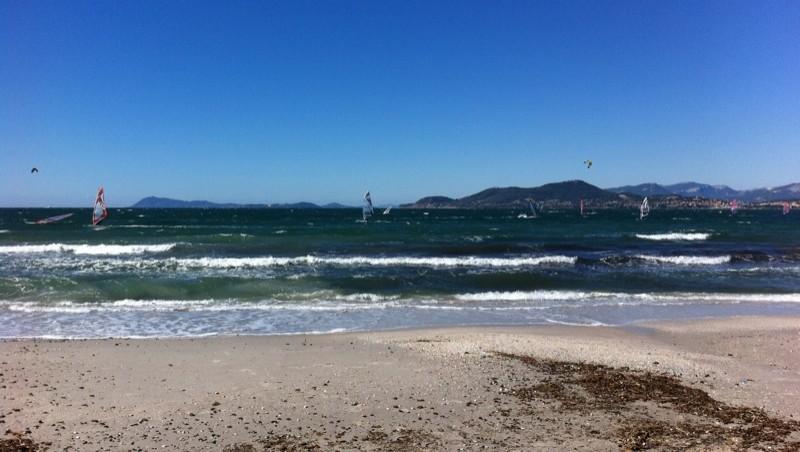Surf report La Madrague - France (83) 2010-09-26 13:40:00