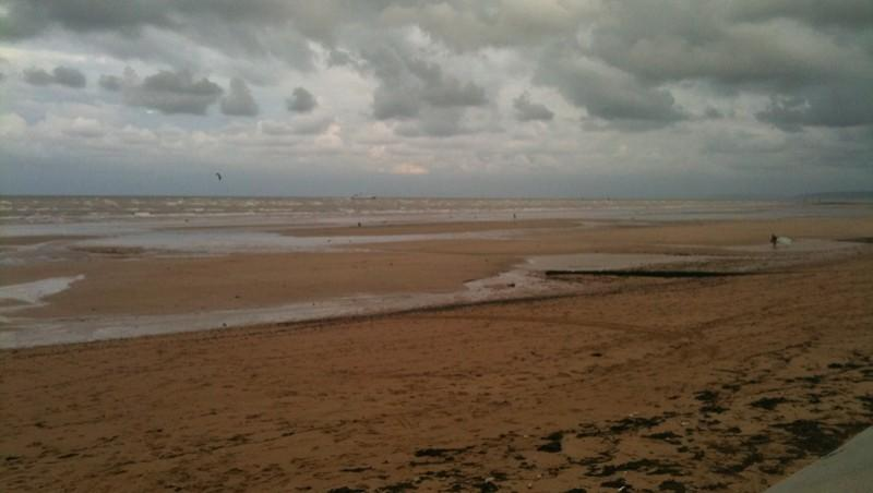 Surf report Ouistreham - France (14) 2010-09-26 19:00:00