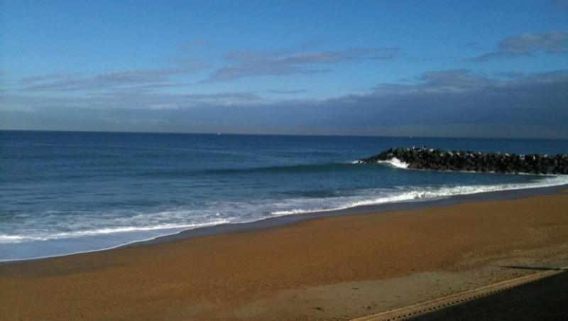 Surf report Anglet Surf Club - France (64) 2010-09-28 10:00:00