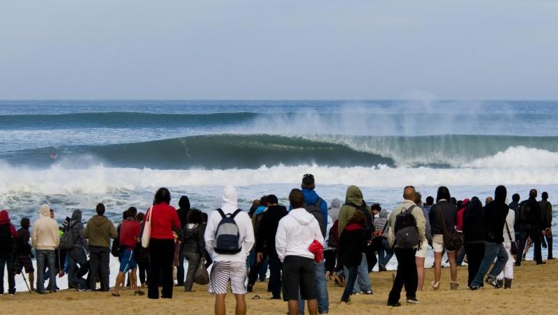 Surf report Hossegor - Les Culs Nus - France (40) 2010-10-02 11:00:00