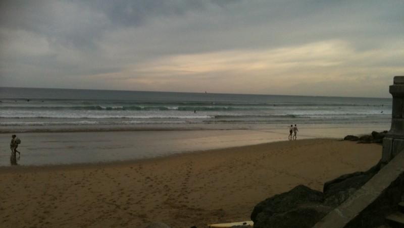 Surf report Hendaye - France (64) 2010-10-03 11:00:00