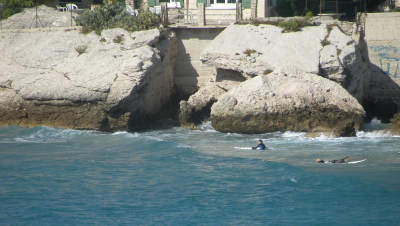 Surf report Plage du Verdon - France (13) 2010-10-03 12:00:00