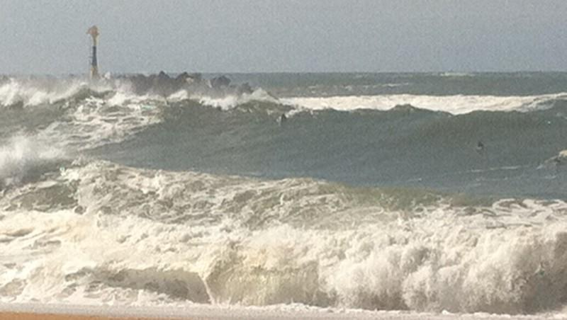 Surf report Anglet La Barre - France (64) 2010-10-06 15:00:00