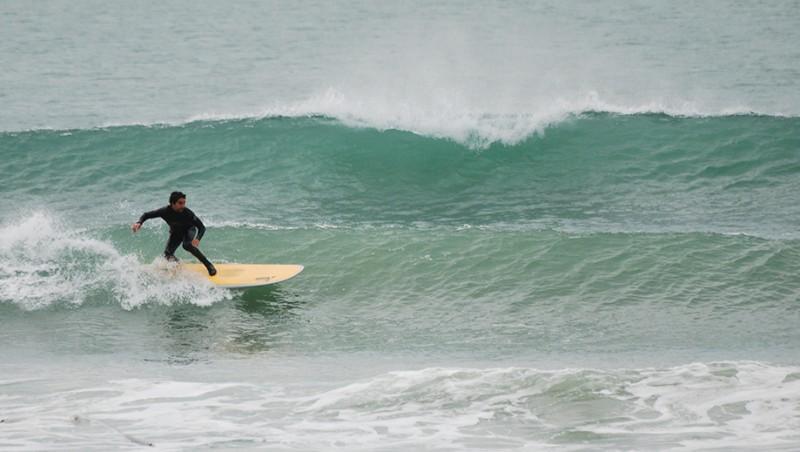 Surf report Wimereux - La Pointe aux Oies - France (62) 2010-10-07 14:30:00