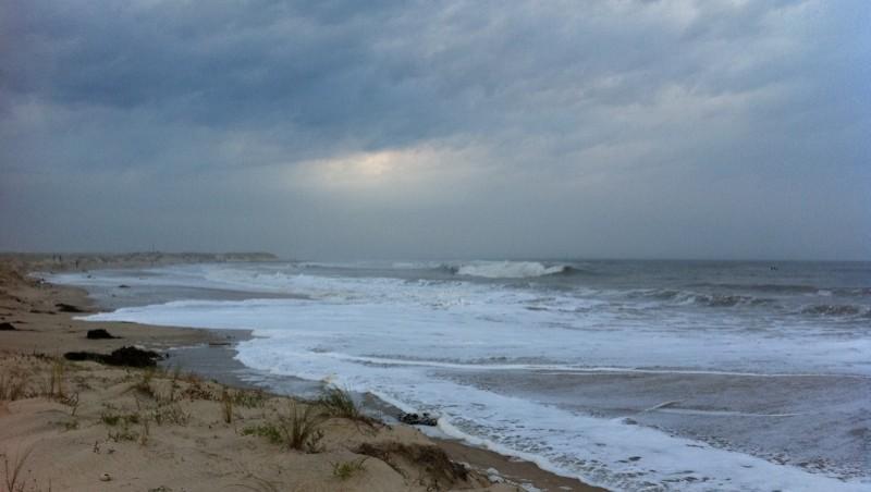 Surf report Pointe de Grave - France (33) 2010-10-09 18:44:00