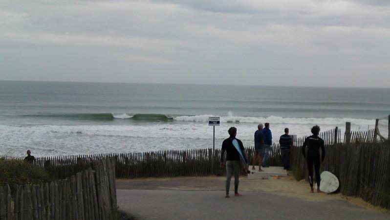 Surf report La Térrière - France (85) 2010-10-09 15:00:00