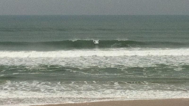 Surf report Le Porge - France (33) 2010-10-11 09:45:00