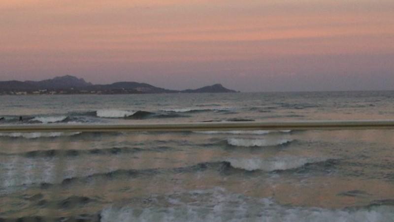 Surf report Saint-Aygulf - Zone Kite - France (83) 2010-10-18 18:51:00