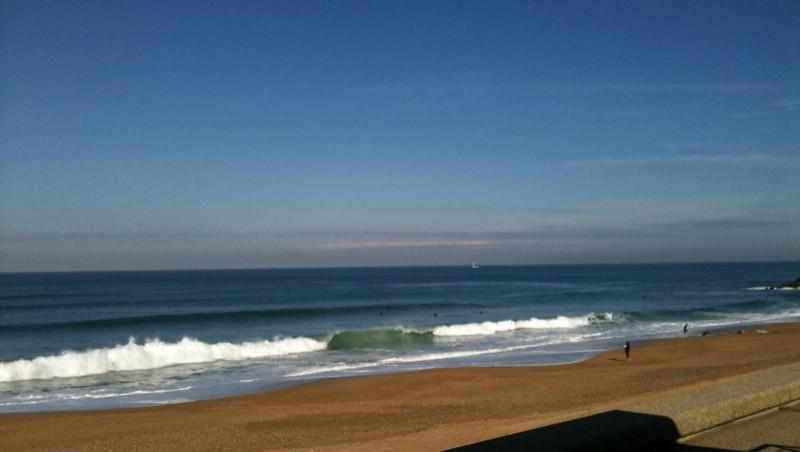 Surf report Anglet Sables d'Or - France (64) 2010-10-19 11:50:00