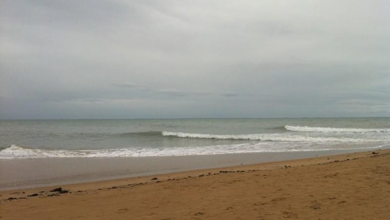 Surf report La Tranche-sur-Mer - France (85) 2010-10-23 20:00:00