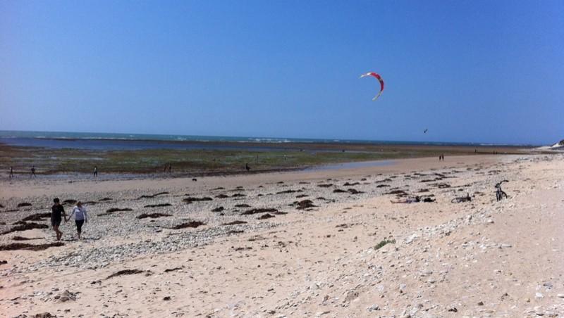 Surf report Les Huttes - Trois Pierres - France (17) 2011-07-22 15:50:00