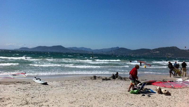 Surf report La Madrague - France (83) 2011-07-23 15:51:00