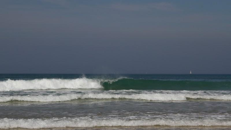 Surf report Quiberon - Port Blanc - France (56) 2011-07-29 11:00:00