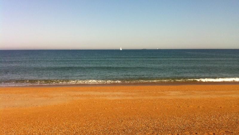 Surf report Tarnos Digue - France (40) 2011-08-01 09:33:00