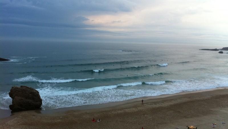 Surf report Biarritz - Grande Plage - France (64) 2011-08-05 07:25:00