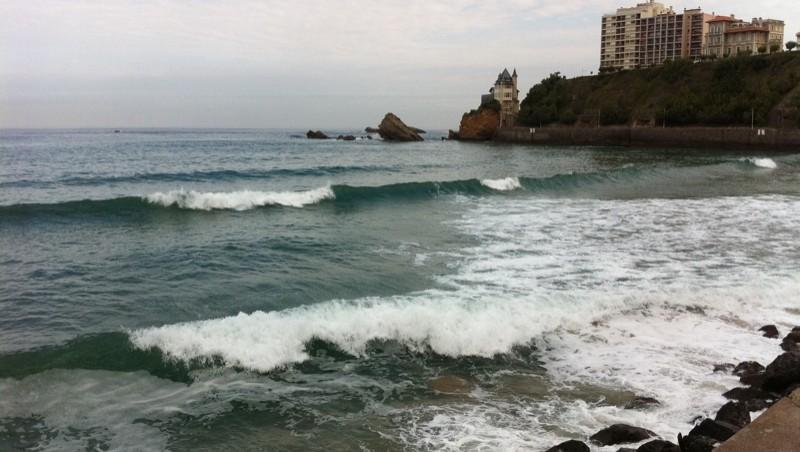 Surf report Côte des Basques - France (64) 2011-08-05 10:08:00