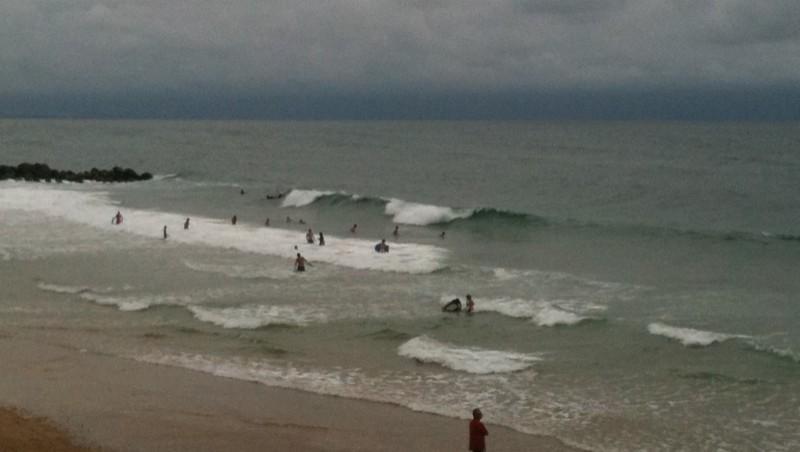 Surf report Capbreton - La Centrale - France (40) 2011-08-05 18:32:00