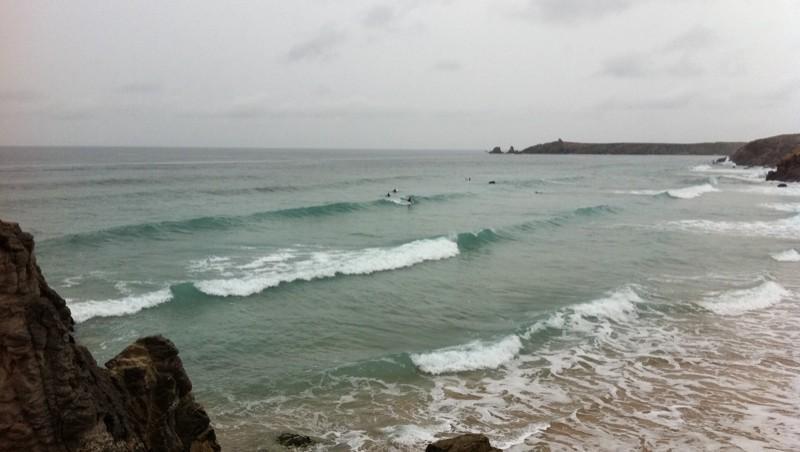 Surf report Quiberon - Port Bara - France (56) 2011-08-06 13:30:00