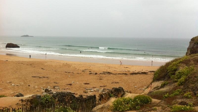 Surf report Quiberon - Port Blanc - France (56) 2011-08-06 14:23:00