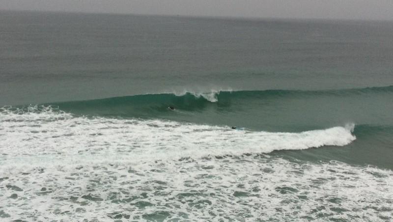 Surf report Quiberon - Port Rhu - France (56) 2011-08-06 14:00:00