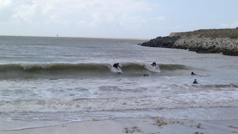 Surf report La Rochelle - Chef de Baie - France (17) 2011-08-08 14:20:00