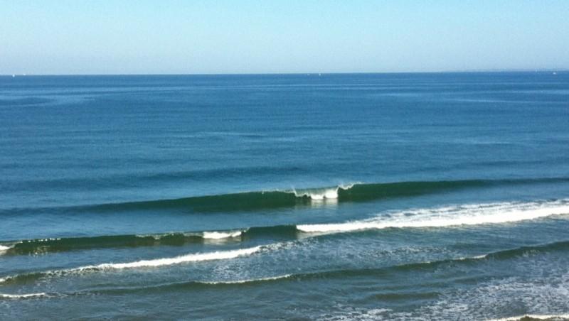 Surf report Quiberon - Port Rhu - France (56) 2011-08-10 09:41:00