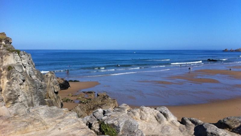Surf report Quiberon - Port Bara - France (56) 2011-08-10 10:03:00