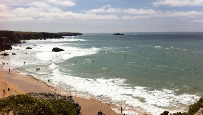 Surf report Quiberon - Port Blanc - France (56) 2011-08-11 13:41:00