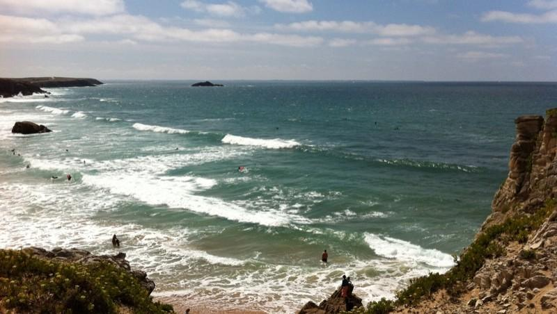 Surf report Quiberon - Port Blanc - France (56) 2011-08-11 13:41:00