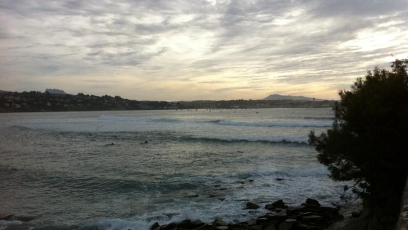 Surf report Sainte Barbe - France (64) 2011-09-11 19:08:00