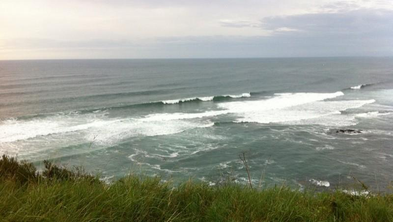 Surf report Erromardie - Acotz - France (64) 2011-09-11 19:44:00