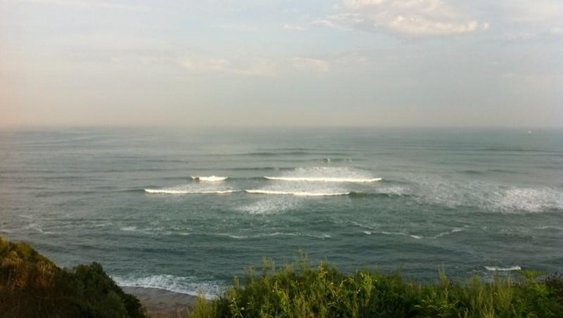 Surf report Guethary Parlementia - France (64) 2011-09-15 09:01:00