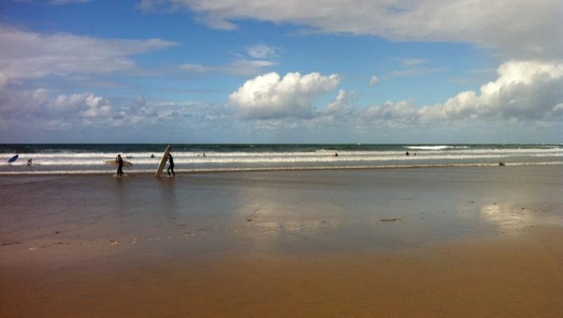 Surf report Hendaye - France (64) 2011-09-18 16:23:00